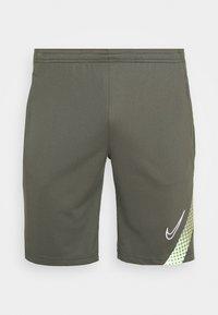 Nike Performance - DRY ACADEMY SHORT - Sports shorts - cargo khaki/thermal green/white - 0