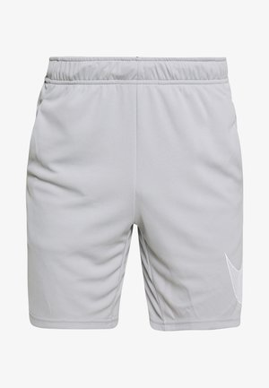 DRY SHORT  - Pantalón corto de deporte - light smoke grey/white
