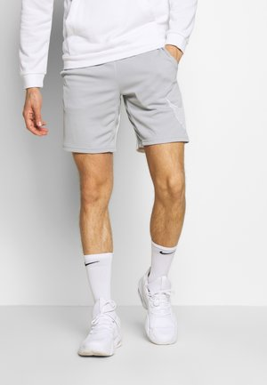 DRY SHORT  - kurze Sporthose - light smoke grey/white