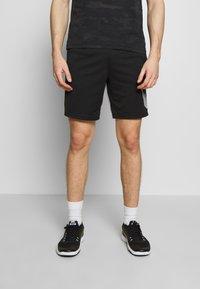 Nike Performance - DRY SHORT  - Sports shorts - black/white - 0