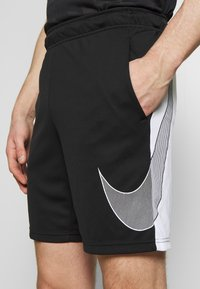 Nike Performance - DRY SHORT  - Sports shorts - black/white - 4