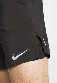 Nike Performance - STRIDE 2IN1 - Sports shorts - black/reflective silver - 6