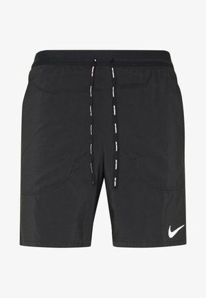 STRIDE 2IN1 - Sports shorts - black/reflective silver