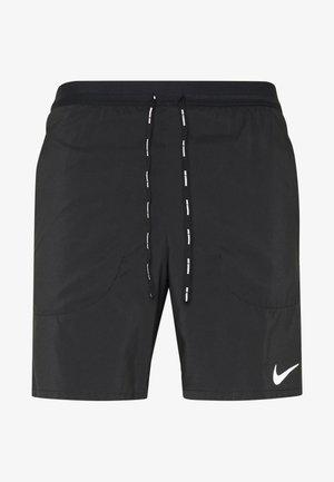 STRIDE 2IN1 - Pantalón corto de deporte - black/reflective silver