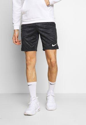 DRY SHORT - Sportovní kraťasy - black/white