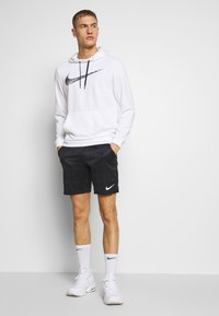 Nike Performance - DRY SHORT - Korte sportsbukser - black/white - 1