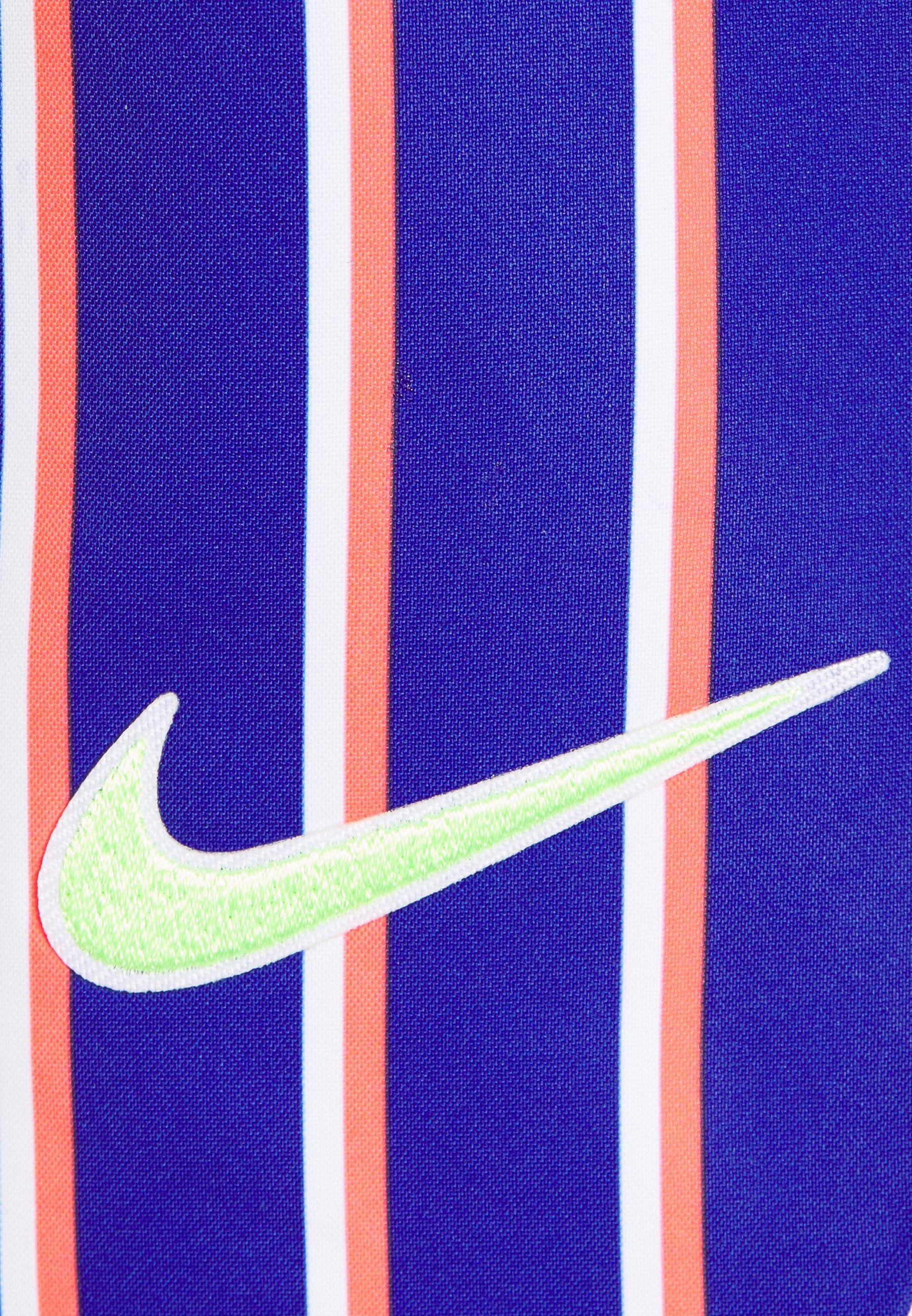 Nike Performance SLAM SHORT - Short de sport - deep night/blackened blue/ghost green