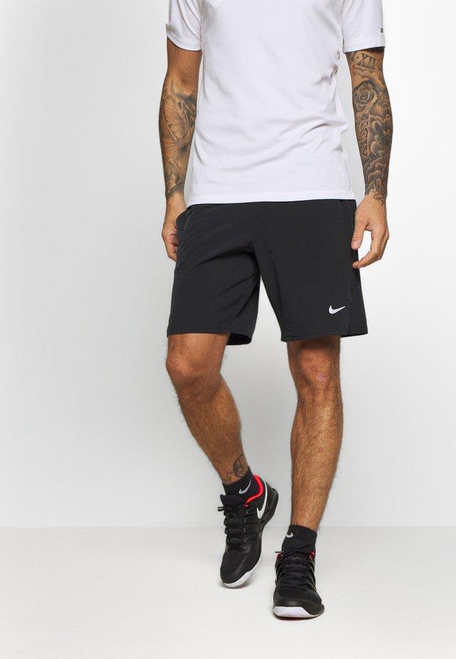 ACE SHORT - Korte sportsbukser - black/white