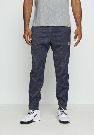 PANT - Teplákové kalhoty - obsidian/wheat
