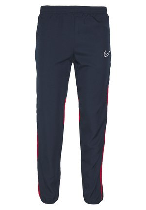 ACADEMY  - Tracksuit bottoms - obsidian/university red/white