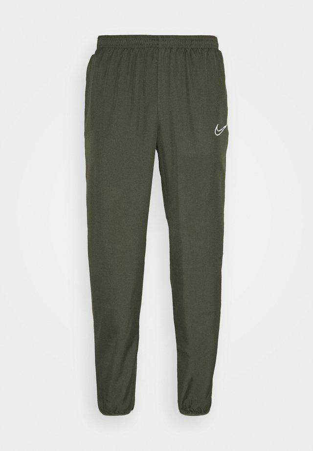 ACADEMY  - Pantalon de survêtement - cargo khaki/medium olive/white