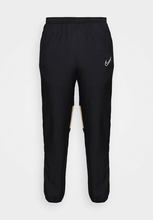 DRY ACADEMY PANT - Trainingsbroek - black/jersey gold/white