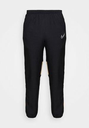 ACADEMY  - Pantalones deportivos - black/jersey gold/white