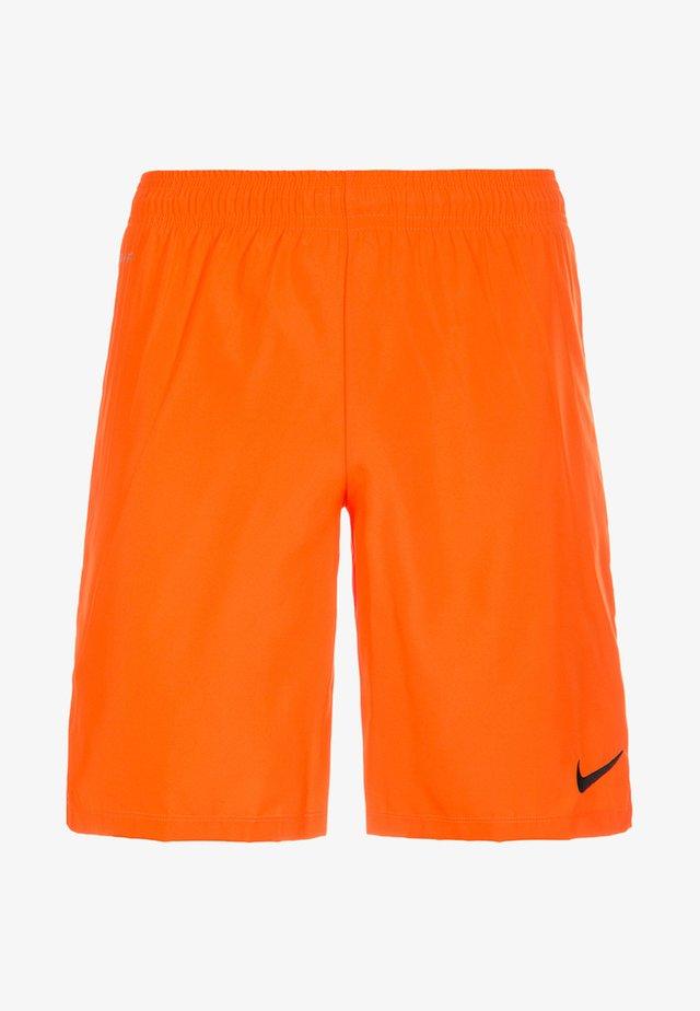 kurze Sporthose - safety orange / black
