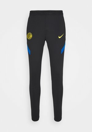 INTER MAILAND DRY PANT - Tracksuit bottoms - black/blue spark/tour yellow