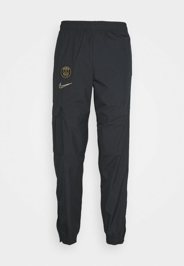 PARIS ST GERMAIN PANT - Pantalon de survêtement - black/truly gold