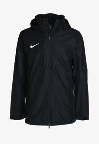 Nike Performance - ACADEMY18 - Vodotěsná bunda - black/black/white - 6