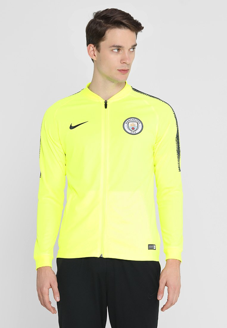 Nike Performance - MANCHESTER CITY DRY - Training jacket - volt/dark obsidian