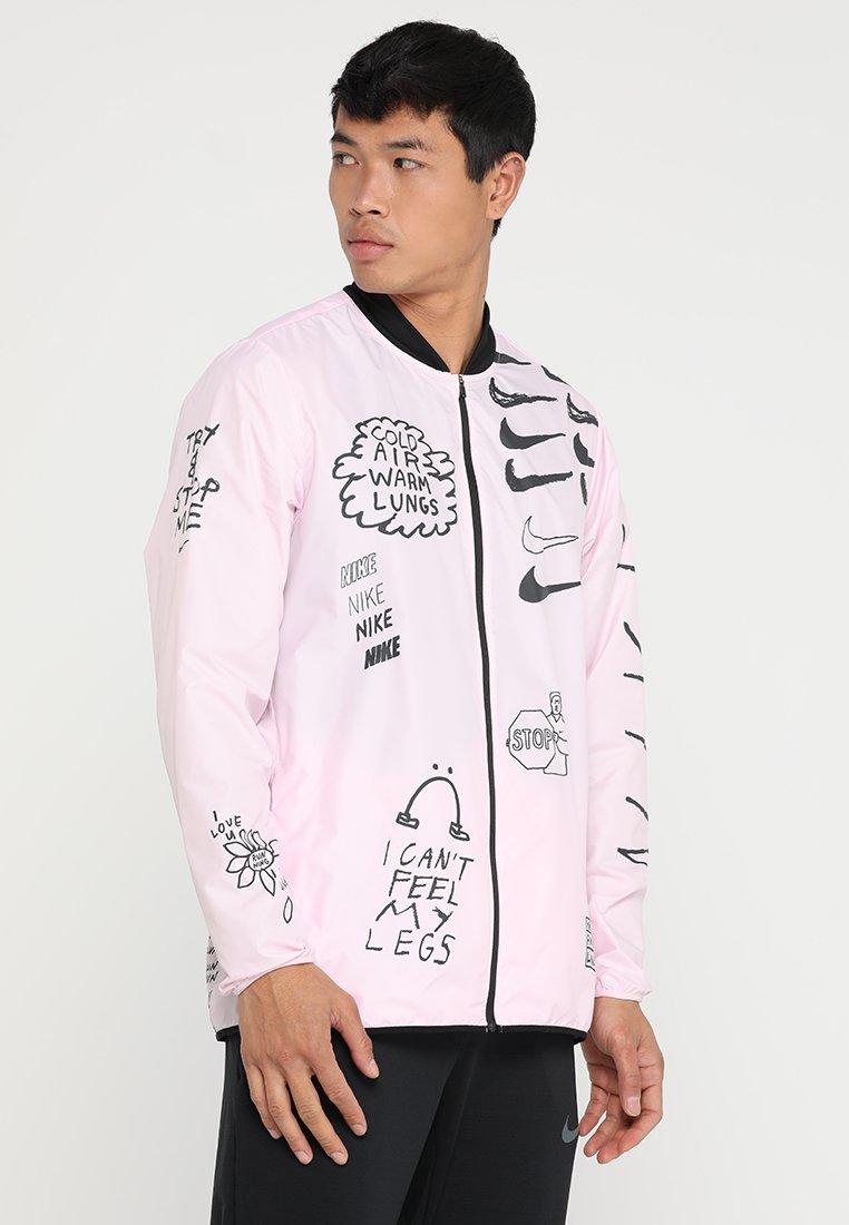 Nike Performance - ARTIST JACKET GRAPHIC NATHAN BELL - Chaqueta de deporte - pink foam
