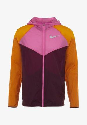 WILD RUN WINDRUNNER - Sports jacket - bordeaux/laser fuchsia/reflective silver