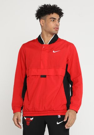 RETRO - Windbreaker - university red/black/white