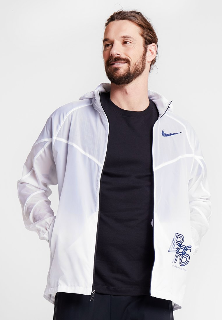 Nike Performance - TRACK - Laufjacke - white/blue void
