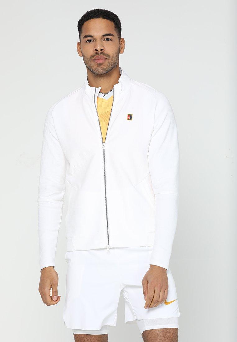 Nike Performance - JACKET HERITAGE - Zip-up hoodie - white