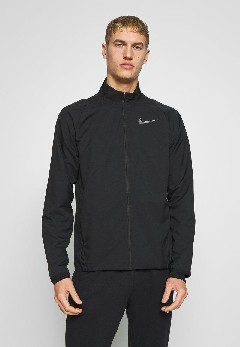 Nike Performance - DRY TEAM - Training jacket - black/black
