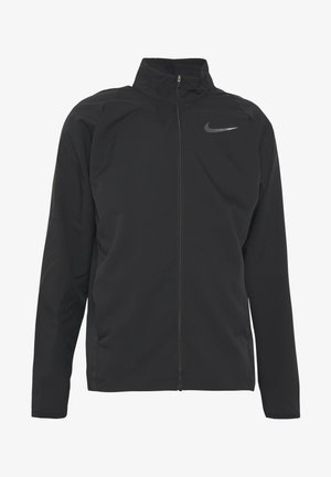 DRY TEAM - Trainingsjacke - black/black