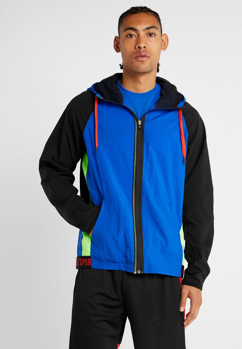 Nike Performance - FLEX - Training jacket - game royal/black/habanero red