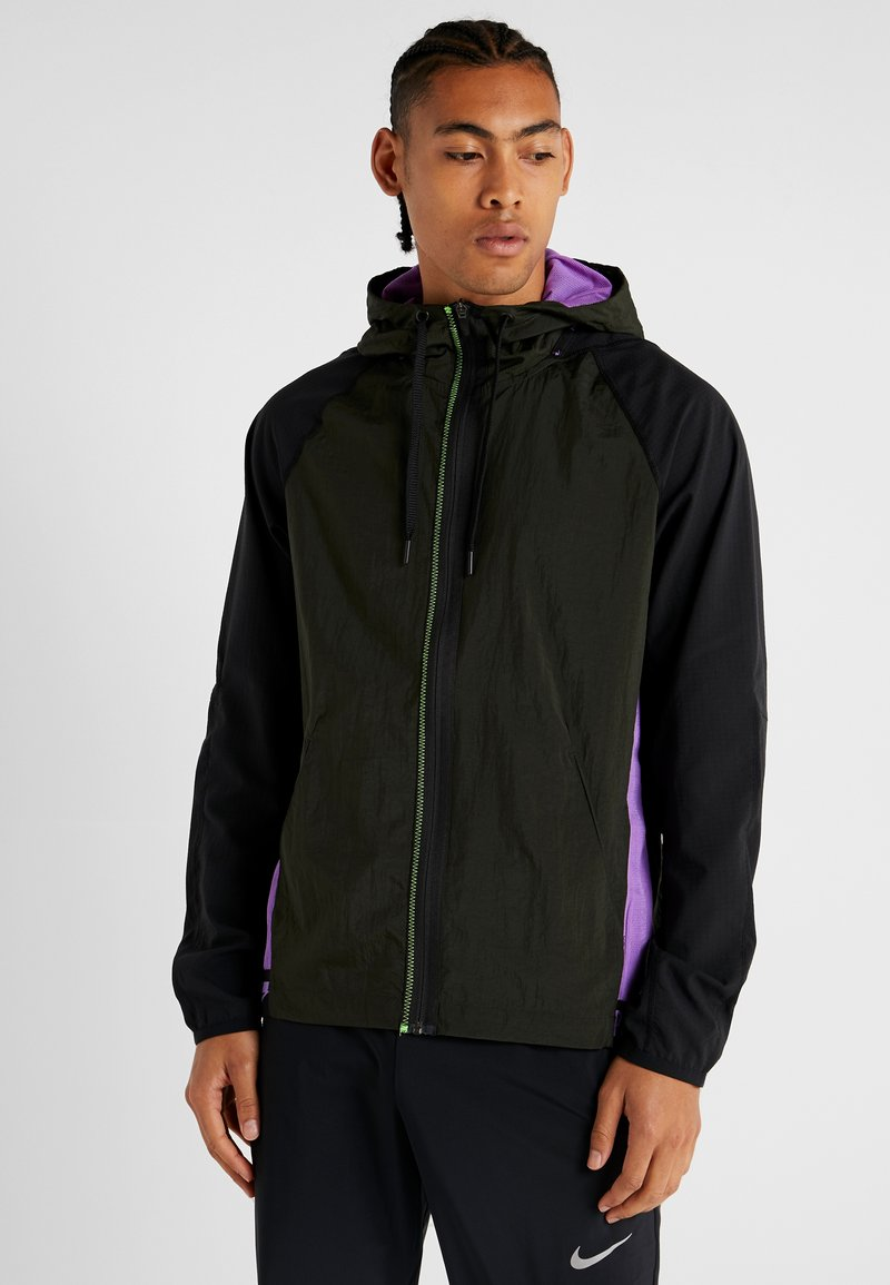 Nike Performance - FLEX - Träningsjacka - sequoia/black/bright violet/pale ivory