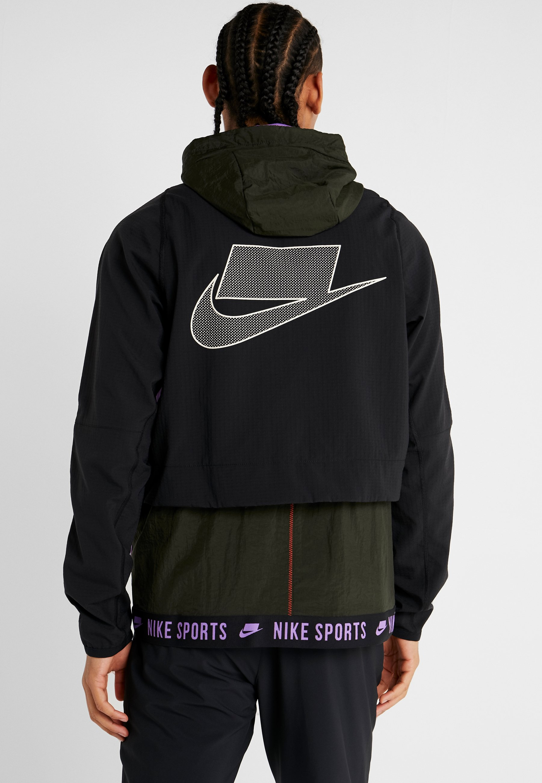 FlexGiacca black bright Nike Sportiva Sequoia Ivory Violet pale Performance kX8n0PwO