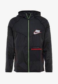 Nike Performance - WILD RUN - Sports jacket - off noir/black/reflective silver - 4