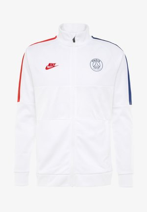 PARIS ST GERMAIN - Träningsjacka - white/university red