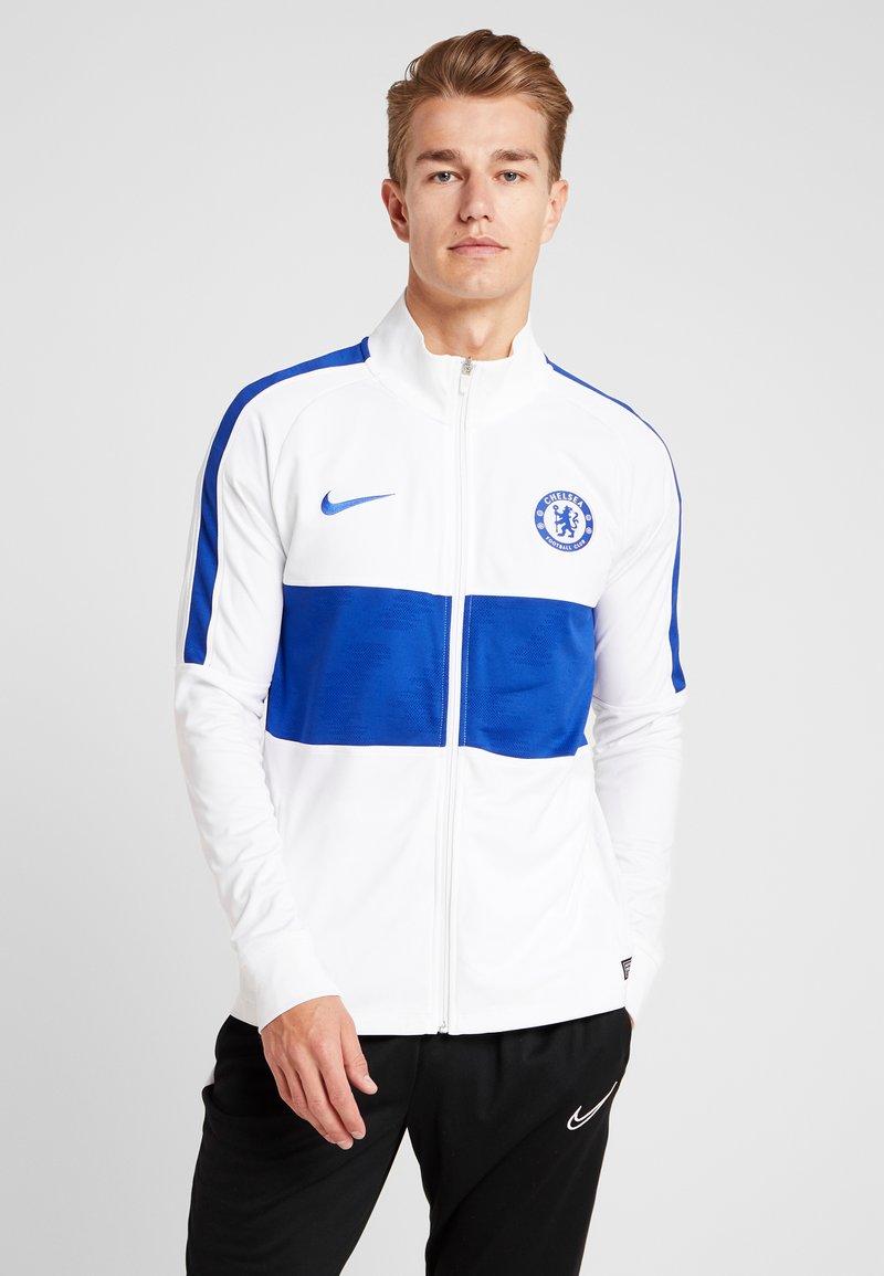Nike Performance - CHELSEA FC DRY  - Vereinsmannschaften - white/rush blue