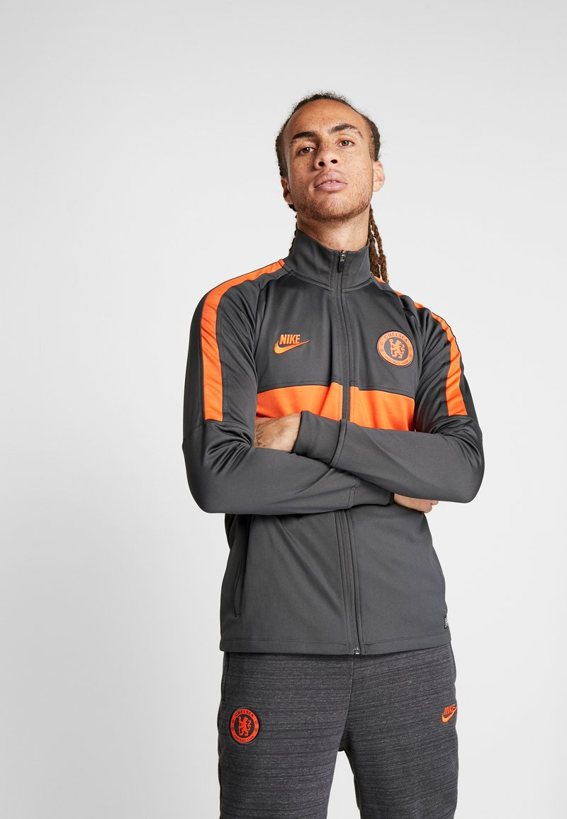Nike Performance - CHELSEA FC DRY  - Klubbkläder - anthracite/rush orange