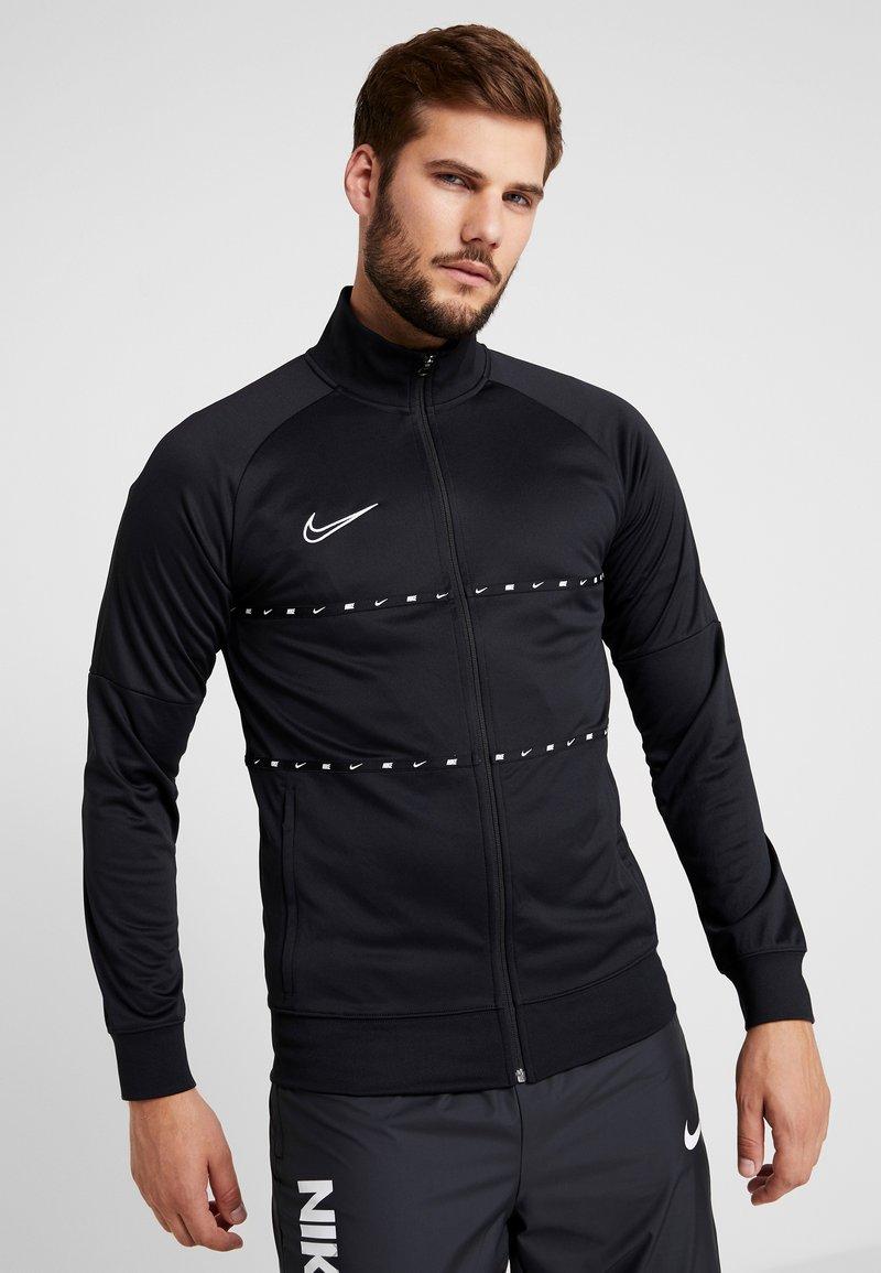 Nike Performance - DRY - Training jacket - black/white