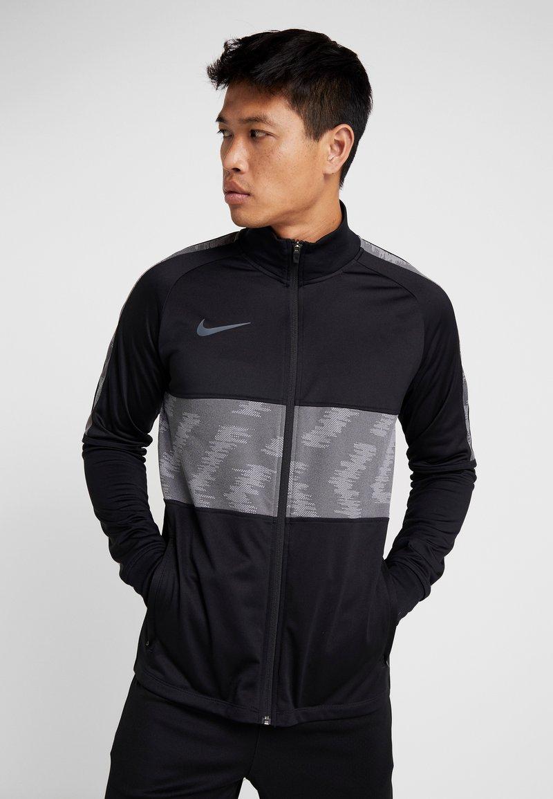 Nike Performance - DRY - Training jacket - black/wolf grey/anthracite