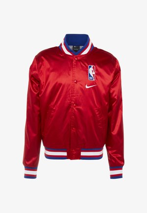 NBA COURTSIDE JACKET - Sportovní bunda - university red/wolf grey/white