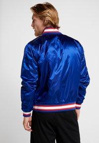 Nike Performance - NBA COURTSIDE JACKET - Training jacket - rush blue/wolf grey/white - 2