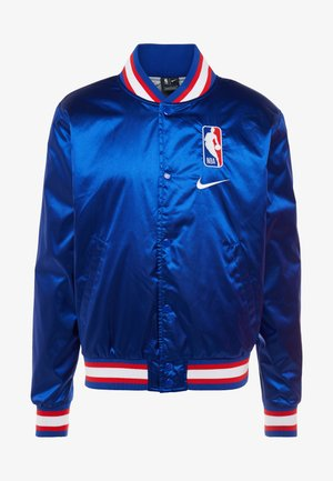 NBA COURTSIDE JACKET - Veste de survêtement - rush blue/wolf grey/white