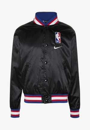 NBA COURTSIDE JACKET - Chaqueta de entrenamiento - black/wolfgrey/white