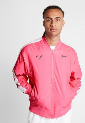 RAFAEL NADAL JACKET - Sportovní bunda - digital pink/gridiron