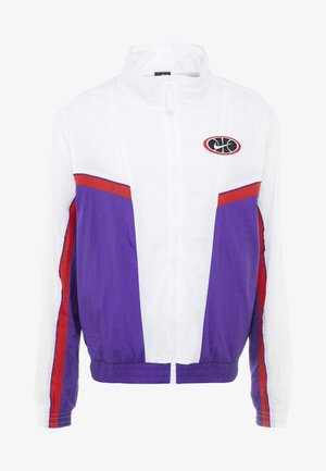 THROWBACK  - Trainingsvest - white/court purple/university red