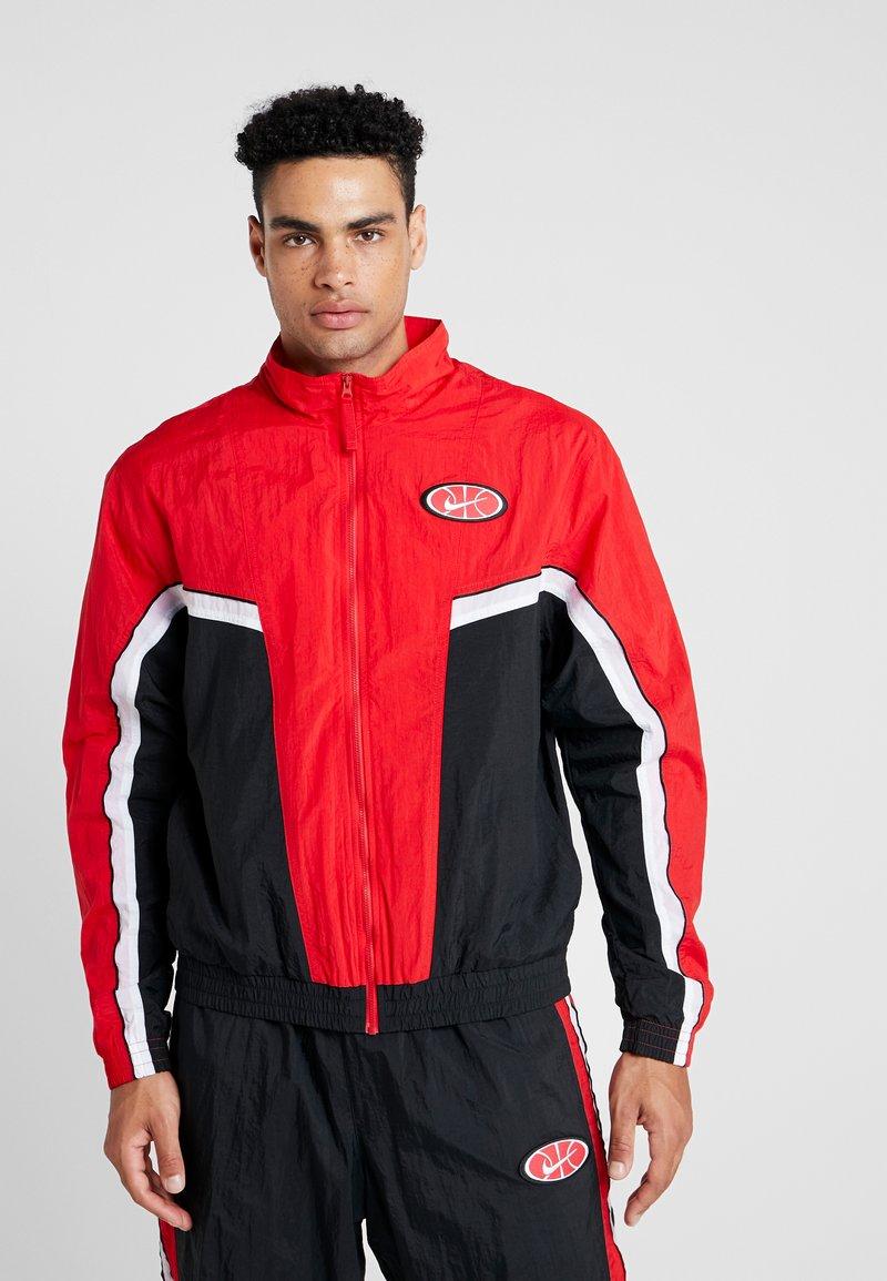Nike Performance - THROWBACK  - Chaqueta de entrenamiento - university red/black/white