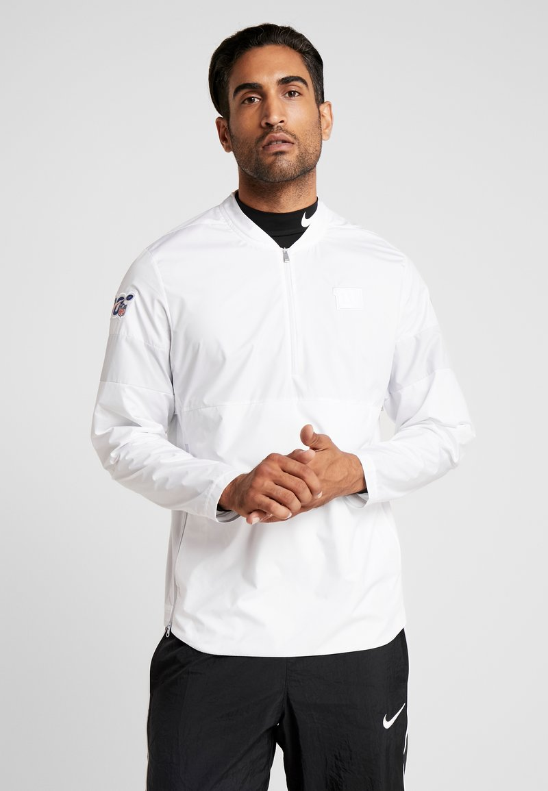 Nike Performance - NFL 100 YEARS NEW YORK GIANTS COACH JACKET - Chaqueta de entrenamiento - white/pure platinum