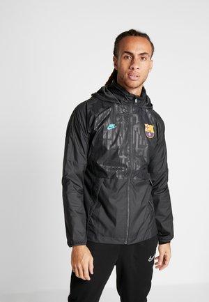 FC BARCELONA - Sportovní bunda - dark smoke grey/cabana