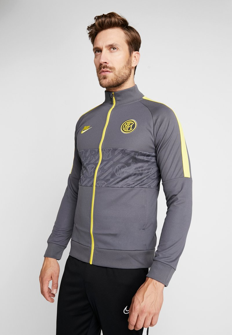 Nike Performance - INTER MAILAND  - Trainingsvest - dark grey/tour yellow