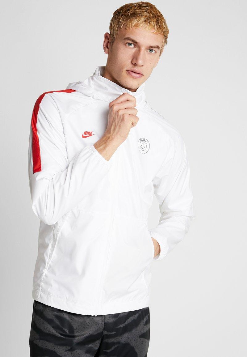 Nike Performance - PARIS ST. GERMAIN  - Veste de survêtement - white/midnight navy/university red