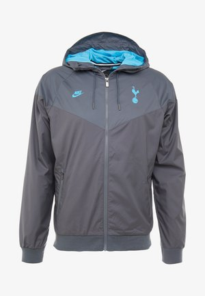 TOTTENHAM HOTSPURS - Veste de survêtement - dark grey/flint grey/blue fury